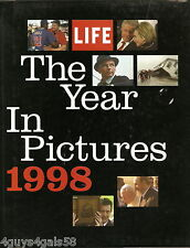 The Year in Pictures (LIFE THE YEAR IN PICTURES) 1998 Hardcover TIME LIFE BOOK