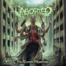 ABORTED THE NECROTIC MANIFESTO CD NEW