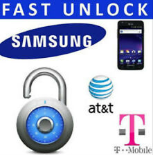AT&T & T-Mobile SAMSUNG UNLOCK CODE Galaxy S5 NOTE III 4 S4 S5 Active MEGA G900A
