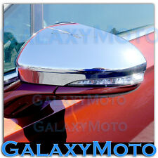 2013-2015 Ford Fusion Triple Chrome plated Mirror with Turn Signal Cover set 15