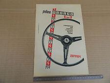PUBBLICITA' 1958 PISTONE BORGO FERRARI
