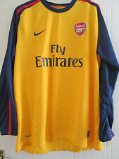 Arsenal 2008-2009 Third Football Shirt Adult Size XXL Gunners /40078 UNWORN! LS