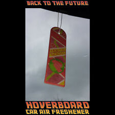 1 x Back To The Future HOVERBOARD Car Air Freshener Exclusive Collectable - RARE