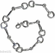SNAFFLE BIT BRACELET Western English Horse Pony Riding Jewelry Accessory Gift