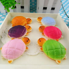 Hot Squishy Bread Scented Tortoise Phone Charms Bun Soft Straps Toys 1pc