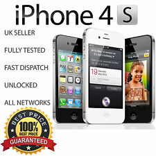 Apple iPhone 4S GRADE B+ 32GB - BLACK - Factory Unlocked - EXCELLENT PHONE
