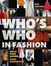 WHO'S WHO IN FASHION - NEW PAPERBACK BOOK