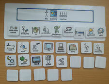 MY EVENING  ROUTINE BOARD helps you child with their evening schedule asd/sen/