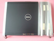 NEW DELL XPS M1330 LED LCD Back Cover & Hinges GX172