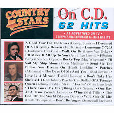 Various : Country Stars on CD (3CDs) (1996)