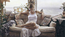 """Steve Hanks """" To Search Within """" Canvas Artist Proof #162/165 W/CERT Mint Rare"""