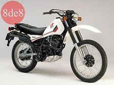Yamaha XT 400 / 550 - Manual de taller en CD (En italiano)