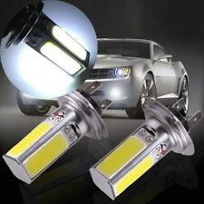 2 x High Power 6000K Fog Light Bulbs Lamp H7 40W Car COB LED Lights White HS