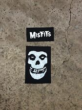 Lot Of 2 Misfits Sew On Patches; Danzig