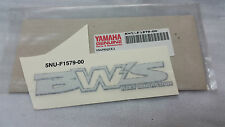EMBLEMA SCUDO ANTERIORE YAMAHA 5NUF15790000 BW'S DECAL STICKER