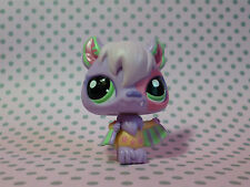 Littlest Pet Shop LPS #1695 Special Pastel Purple Bat with Green Eyes