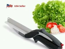 Clever Cutter 2-in-1 Food Chopper Replace your Kitchen Knives and Cutting Board
