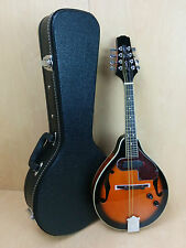 SM66EVSB Smoky Mountain Electric-Acoustic mandolin w/deluxe hard case, Picks