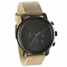 MVMT Watches CHRONO GUN METAL SANDSTONE LEATHER Men's Watch Chronograph ORIGINAL