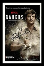 PEDRO PASCAL - NARCOS AUTOGRAPHED SIGNED & FRAMED PP POSTER PHOTO