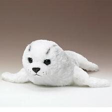 New White Harp Seal Pup 24 Inch Stuffed Soft Plush Animal Toy Wildlife Artists