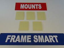 PACK OF 10 SELF ADHESIVE MOUNT BOARD 10 x 8""