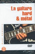 ROBERTS RUDY LA GUITARE HARD & METAL GUITAR MUSIC MUSIQUE DVD FRENCH