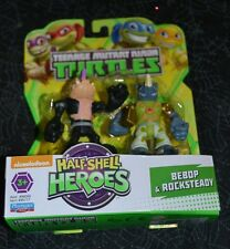 TEENAGE MUTANT NINJA TURTLES HALF SHELL HEROES BEBOP & ROCKSTEADY