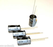 3300uF 10V 105' Low ESR 18mOhm FR Panasonic 12.5x20 EEUFR1A332 Cap.  [QTY=4pcs]