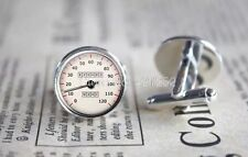 Mens Gents Retro Vintage Classic Car Speedometer Cufflinks Petrolhead Gift