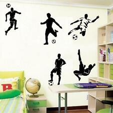 Soccer Ball Football Wall Sticker Decal Decor Sports Boy Bedroom Top Sale