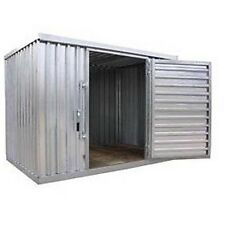 "Heavy Duty Storage Shed - Steel - Outdoor -  9 ft 2"" W x 6 ft 1"" D x 7 ft 1"" H"