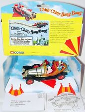Corgi Toys 1:43 CHITTY CHITTY BANG BANG TV Model Car + All Figures 05301 MIB`99!