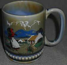 Wade Irish Porcelain IRELAND - COUNTRY SCENE 12 oz Handled Mug IRELAND