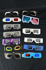 3D Movie Glasses Lot - The Mask, Comin' At Ya (3), IMAX & More - 13 Pairs Total!