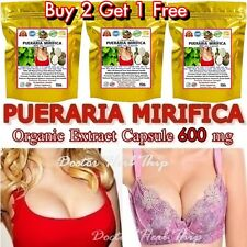 PUERARIA MIRIFICA 3000 EXTRA CAPSULE NATURAL FIRMING BUST ENLARGEMENT BREAST 600