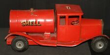 "SHELL TRIANG VINTAGE TRUCK 17"" oil gas service station advertising sign TANKER"