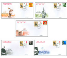 """China 2008 """"The international Olympic day""""FDC(full set 5PC)"""