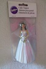 Wilton Wedding Bride With Flowers Cake Topper 5 1/2 in Tall Cake Decorating New