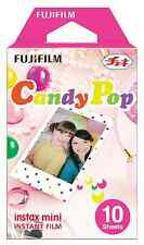 Fujifilm Instax Mini Full Color CANDY POP Fuji Instant Film 10 Sheets Prints