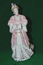 RARE BEAUTIFUL COALPORT FIGURINE LADY HARRIET LTD EDITION LA BELLE EPOQUE #1841