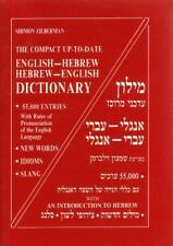 The Compact Up-to-Date English-Hebrew / Hebrew-English Dictionary 55,000 Entrie