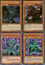 Yugioh Dark World Deck - Grapha, Dragon Lord, Goldd, Wu-Lord, Beiige, Vanguard