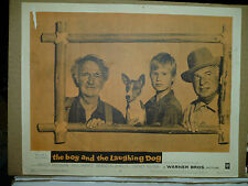 THE BOY AND THE LAUGHING DOG, orig 1959 LC #3 (Walter Brennan, Brandon de Wilde)