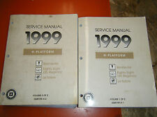 1999 BUICK LE SABRE PONTIAC BONNEVILLE OLDS EIGHTY EIGHT FACTORY SERVICE MANUALS