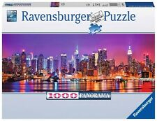 PUZZLE RAVENSBURGER 1000 Piezas Pieces Pezzi LUCES DE MANHATTAN NUEVA YORK 15078