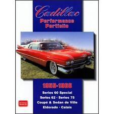 Cadillac Performance Portfolio 1959-1966 book paper