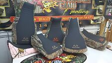 YAMAHA GRIZZLY 660 REALTREE seat cover black gripper & camo  BLK/STITCH