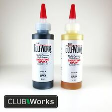 High impact shafting epoxy - Golf shaft glue/adhesive - 2 x 4oz bottles