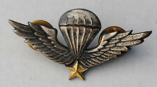 Vietnamese Made Early ARVN Airborne Wings / Metal Insignia
